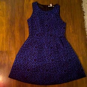 L Forever 21 Contemporary Leopard Cocktail Dress